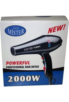 Mister Turbo Fön Makinası Kf 8886 2000 Watt