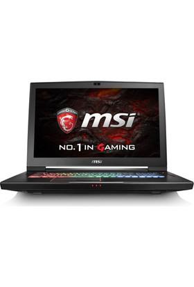 "MSI GT73EVR 7RE(Titan)-831XTR Intel Core i7 7700HQ 16GB 1TB + 256GB SSD GTX1070 Freedos 17.3"" FHD Taşınabilir Bilgisayar"