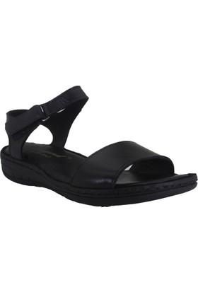 Despina Vandi Yvzr A1015 Günlük Kadın Deri Sandalet