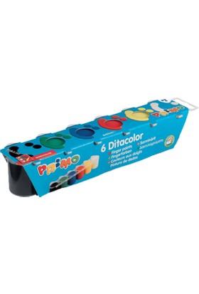 Primo Parmak Boya 6 Renk 25 Gr Plastik Şişe
