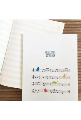 Meteksan Müzik Defteri A-5 40Yp Küçük