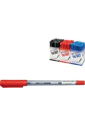 Temat Tükenmez Kalem 0,7Mm Kırmızı Tk-507