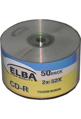 Elba Cd-R 700 Mb-80Mın 2X 52X 50 Li