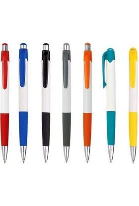 Aihao Tükenmez Kalem Beyaz-Karışık Renkler 505