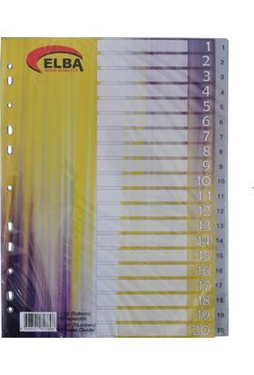 Bafix Seperatör Plastik 1-20 Rakamlı