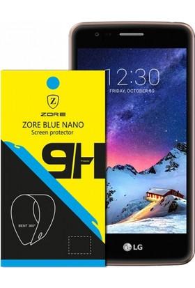 Serhan Lg K8 2017 Nano 330 Derece Bükülen 9H Ekran Koruyucusu