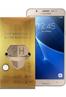 Serhan Samsung J7 2016 Nano 330 Derece Bükülen 9H Ekran Koruyucusu+0.2Mm Silikon Kılıf