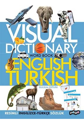 Visual Dictionary Word Book English-Turkish