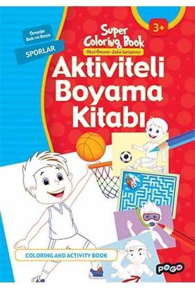 Aktiviteli Boyama Kitabı Sporlar