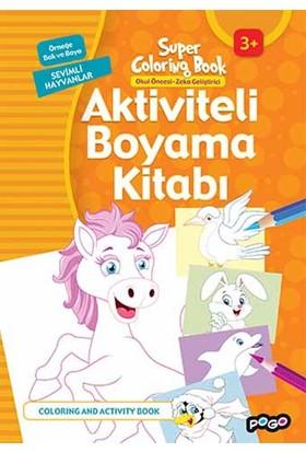 Aktiviteli Boyama Kitabı Sevimli Hayvanlar