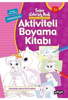 Aktiviteli Boyama Kitabı Prensesler