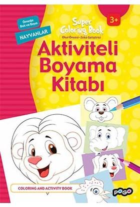 Aktiviteli Boyama Kitabı Hayvanlar