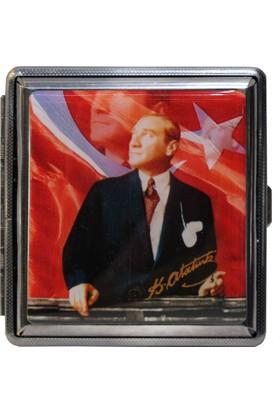 Modaroma Ayyıldız Ve Atatürk Sigara Tabakası 2