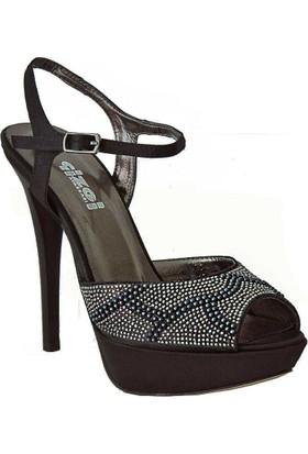 Dream 9204 Topuklu Kadın Ayakkabı Siyah