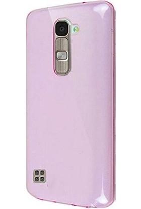 Case 4U Lg Magna Ultra İnce Silikon Kılıf Pembe