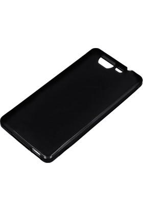 Case 4U Casper Via V8 Siyah Silikon Arka Kapak