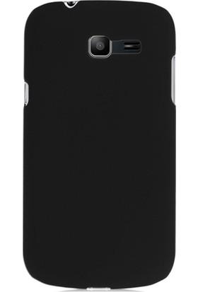 Case 4U Samsung S7390 Galaxy Trend Lite Siyah Arka Kapak