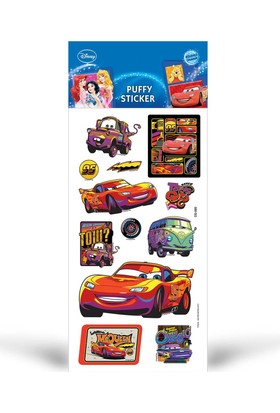 Artikel Cars Puffy Sticker