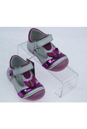 Teo Kız Çocuk İlkadım Deri Ayakkabı