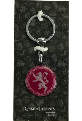 Game Of Thrones Kırmızı Anahtarlık Lannister