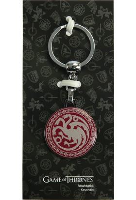 Game Of Thrones Kırmızı Anahtarlık Targaryen