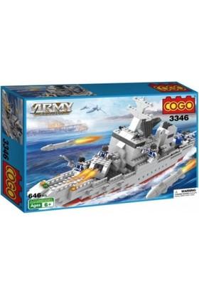 Cogo Lego Asker Seti Deniz Operasyonu 646 Parça