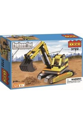 Cogo Lego İnşaat Seti İnşaat Kepçesi 319 Parça