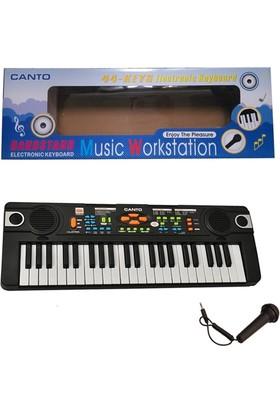 Ekincioğlu Radyolu Mikrofonlu Org Klavye 44 Tuşlu