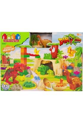 Jdlt Çocuk Lego Sevimli Dinazor Ailesi 73 Parça