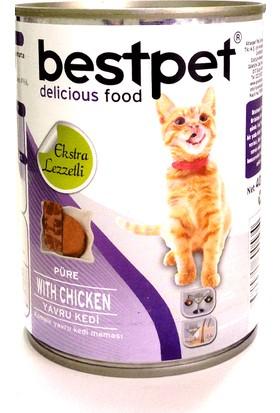 Bestpet Püre Kıyılmış Tavuklu Konserve Yavru Kedi Maması 400 Gr