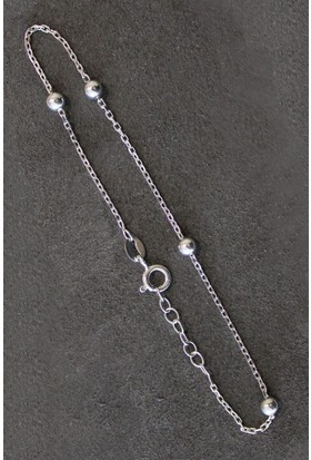 Bella Gloria Toplu Zincir Gümüş Bileklik (Tgb0217)