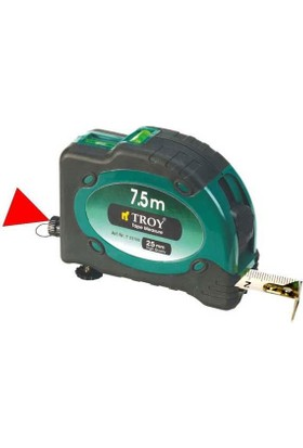 Troy 23100 Lazerli Şerit Metre 8 X 25Mm