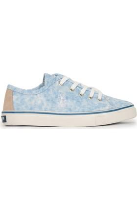 U.S. Polo Assn. Kadın Helen-Int Sneaker Ayakkabı Mavi