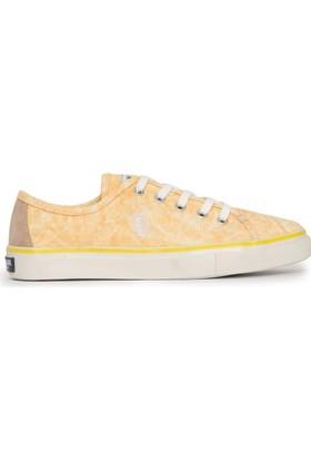 U.S. Polo Assn. Kadın Helen-Int Sneaker Ayakkabı Sarı
