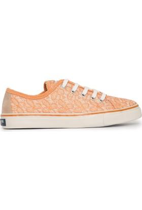 U.S. Polo Assn. Kadın Sage-Int Sneaker Ayakkabı Turuncu