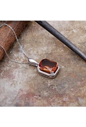 Sümer Telkari Renk Değiştiren Zultanit Taşlı Gümüş Kolye 2101