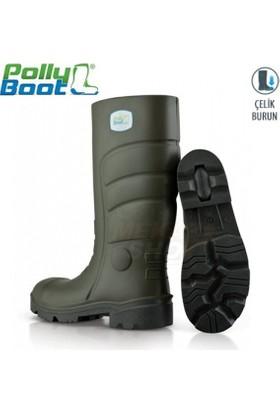 Pollybot G502 Çelik Burunlu Çizme