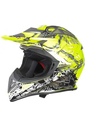 Free-M 116 Monster Kross Kask Sarı