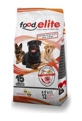 Food Elite 25 Protein Biftekli Köpek Maması 15 kg