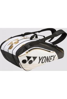 Yonex Pro 9629 9'Lu Tenis Çantası Beyaz