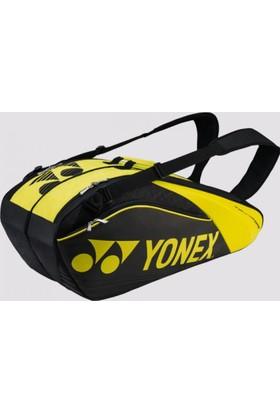 Yonex Pro 9626 6'Lı Tenis Çantası Siyah/Lime