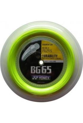 Yonex Bg 65-2 Badminton Kordajı Sarı (200M)