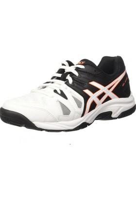 Asıcs Gel Game 5 Gs Beyaz Gri Turuncu Çocuk Tenis Ayakkabısı
