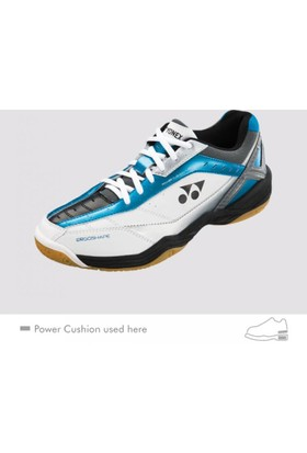 Yonex Shb 45 Badmınton Voleybol Hentbol Ayakkabı Mavi Beyaz