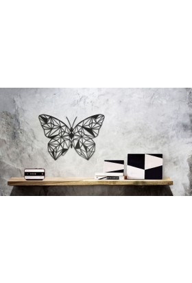 Hangover Butterfly Metal Duvar Tablo