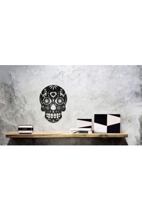Hangover Sugar Skull Metal Duvar Tablo