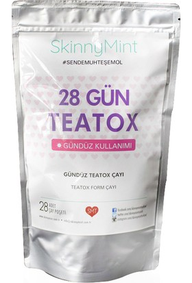 Skinny Mint Türkiye Bitkisel Teatox Çay 28 Gün Gündüz