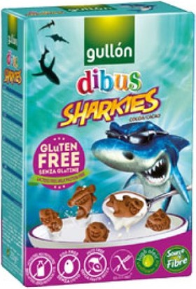 Gullon Glutensiz Sharkies Bisküvi 250 Gr