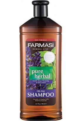 Farmasi Pure Herbal Yağlı Saçlar İçin Şampuan