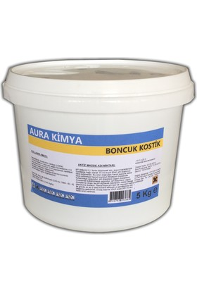 Aura Boncuk Kostik (Sodyum Hidroksit) 5 Kg